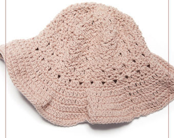 Primrose Stitch Sun Hat Crochet Pattern