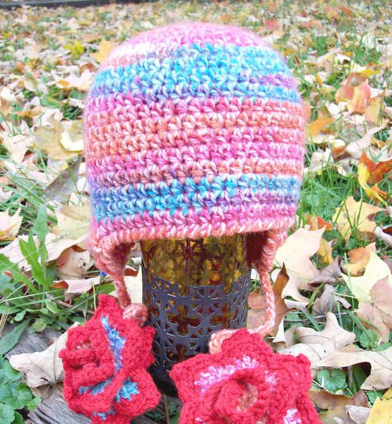 Children's Rosalina Winter Hat Crochet Pattern