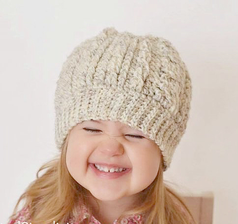 Crochet Cabled Beanie Pattern