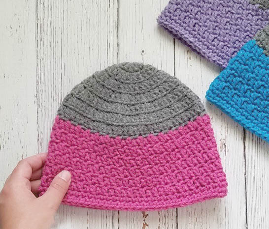 Kids Rapids Beanie Crochet Pattern