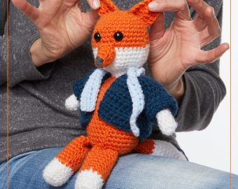 Mr Fox Toy Crochet Pattern