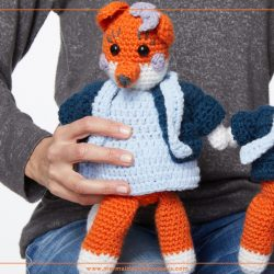 Mrs Fox Toy Crochet Pattern