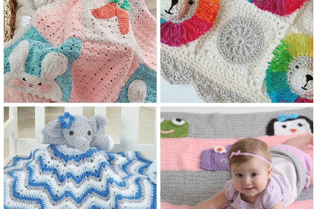 15 Adorable Animal Themed Crochet Baby Blanket