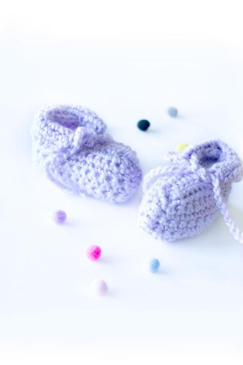 Easy PeasyCrochet Baby Booties