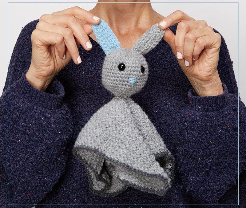 Baby Bunny Comforter Crochet Pattern