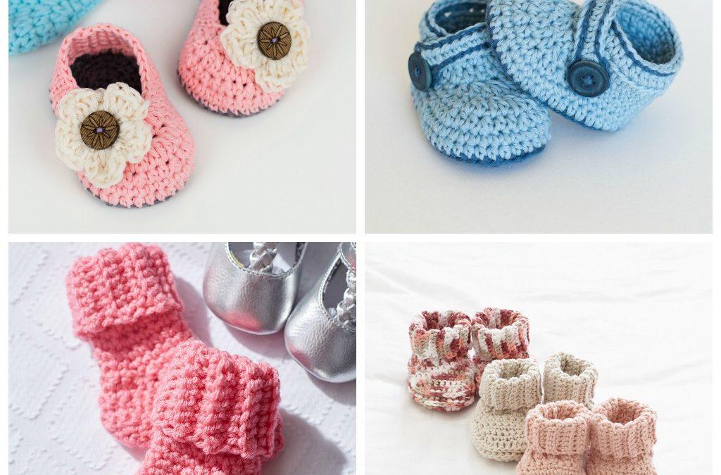 25 Crochet Baby Bootie Patterns