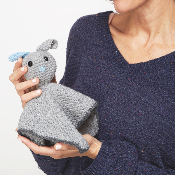 Baby Bunny Crochet Comforter