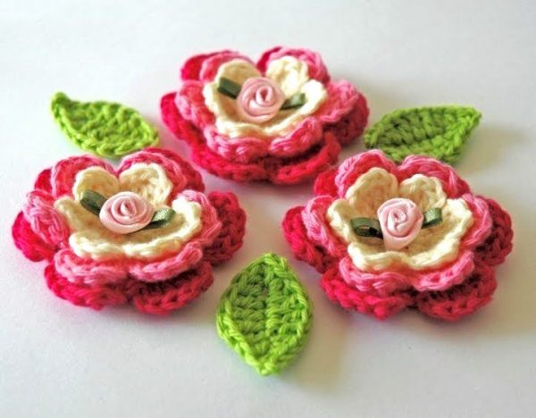 Blooming Flower Crochet
