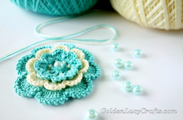 Crochet Irish Rose Pattern