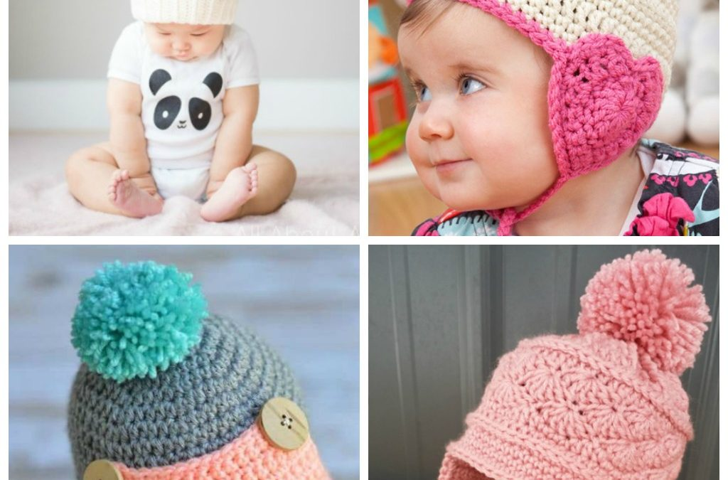 17 Crochet Baby Hat Patterns