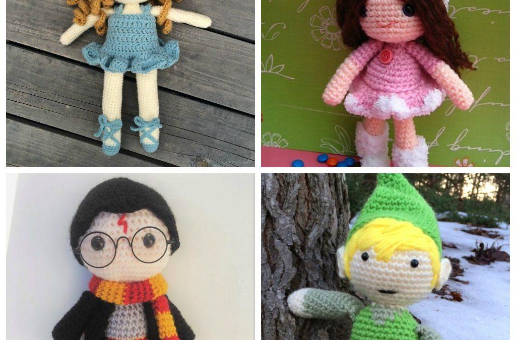 16 Free Crochet Doll Patterns