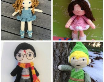 16 Free Crochet Doll Patterns