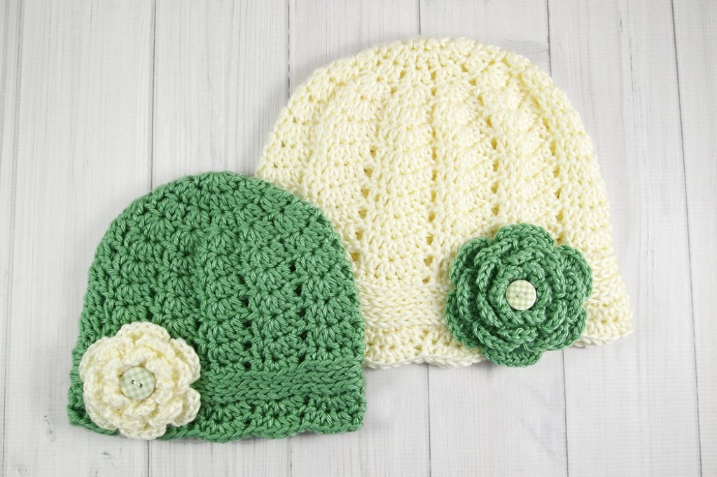 Charmed Cloche - These free newborn crochet hat patterns are fun and easy to work on. These baby accessories are so fast to make and anyone can do it. #CrochetBabyHatPatterns #CrochetHatPatterns #CrochetNewbornHats