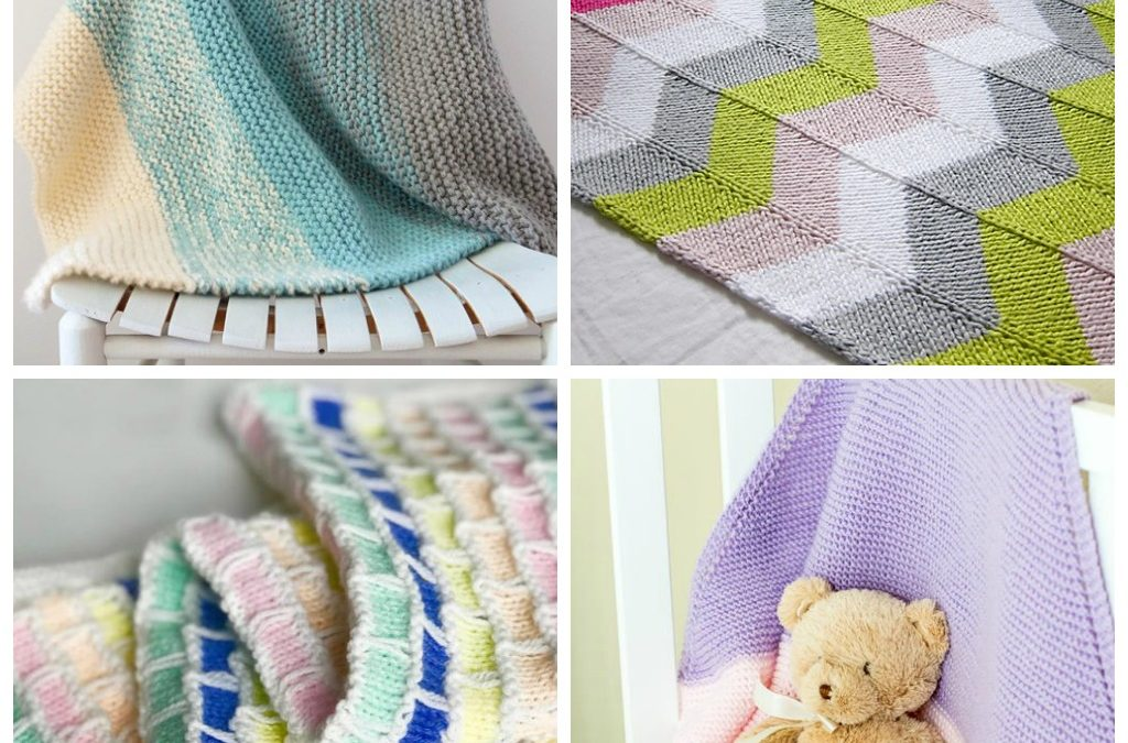 14 Baby Blanket Knitting Patterns Perfect for Beginners