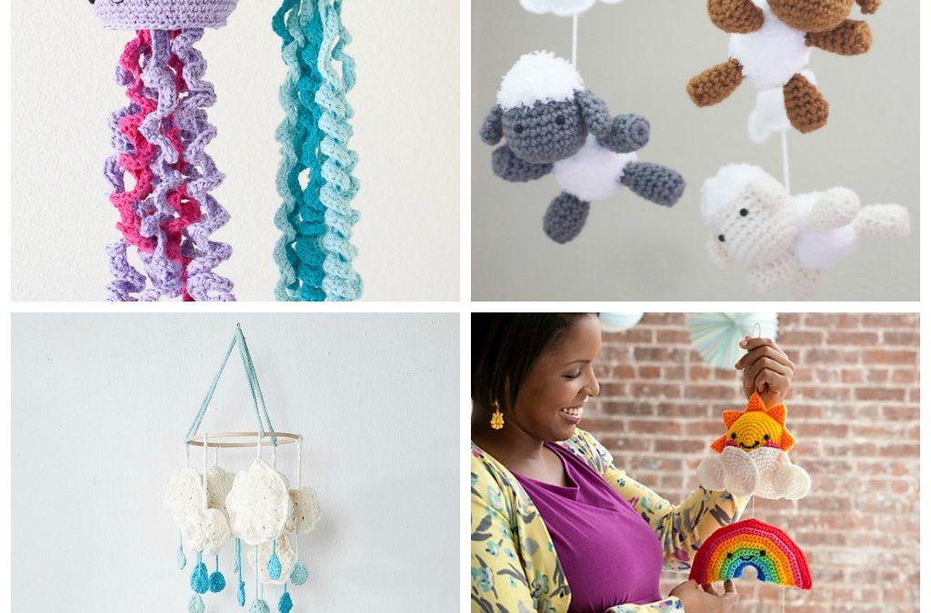 15 Adorable Crochet Baby Mobiles