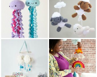 15 Adorable Crochet Baby Mobiles