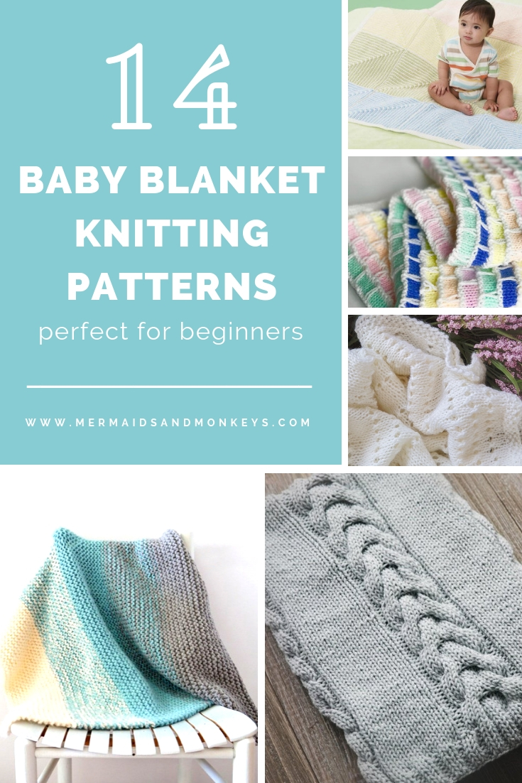 Each of these baby blanket knitting patterns is suitable for any skill level and is fun to make. The best part is how colorful they all are and how versatile. #BabyBlanketKnittingPatterns #KnitBabyBlankets #FreeKnitPatterns