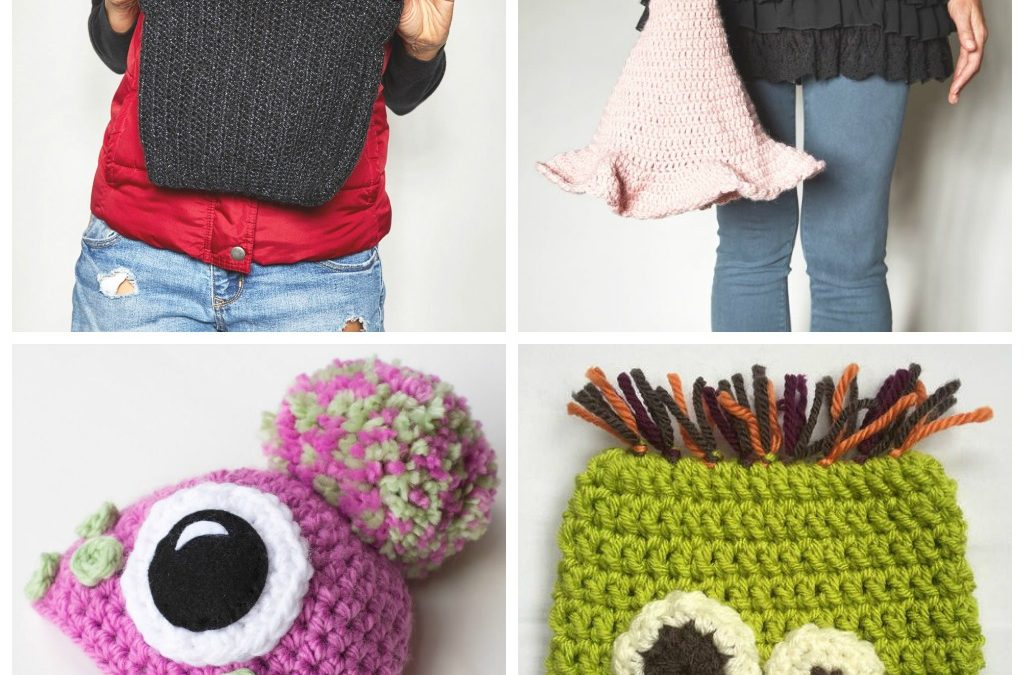 13 Spooky Crochet Hat Patterns for Kids
