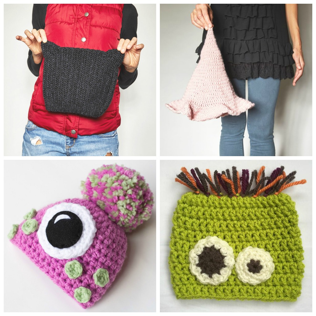 13 Spooky Crochet Hat Patterns for Kids - If you're looking for something to wear for your children this Halloween, these 13 spooky crochet hat patterns for kids is a start. #kidscrochethat #crochethatpatterns #spookycrochethat