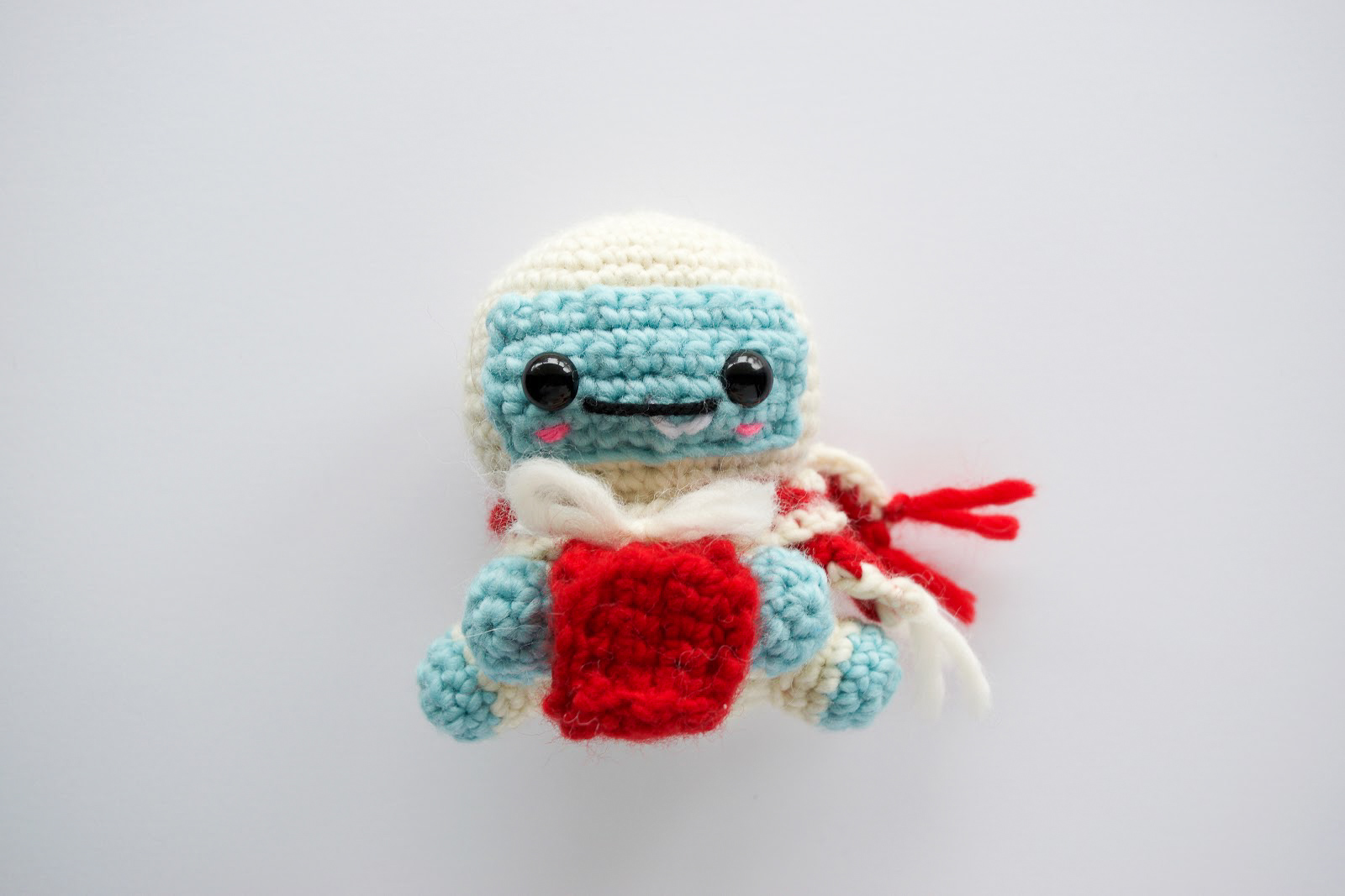 Claus the Yeti - Fill this holiday season with crochet toy projects that will fill your home with more joy than ever before. #crochettoys #christmastoys #crochetamigurumi