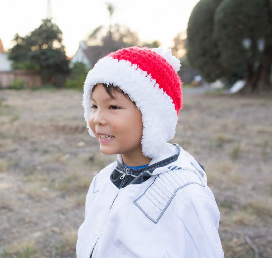Crochet Christmas Beanie - This list of Christmas Crochet hat patterns will supply you with anything from the classics (Santa, Rudolph, Snowman) to fun animals and well-loved characters. #ChristmasCrochetHatPatterns #CrochetHatPatterns #CrochetPatterns