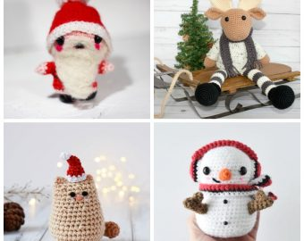 26 Fun Crochet Toys for the Holidays