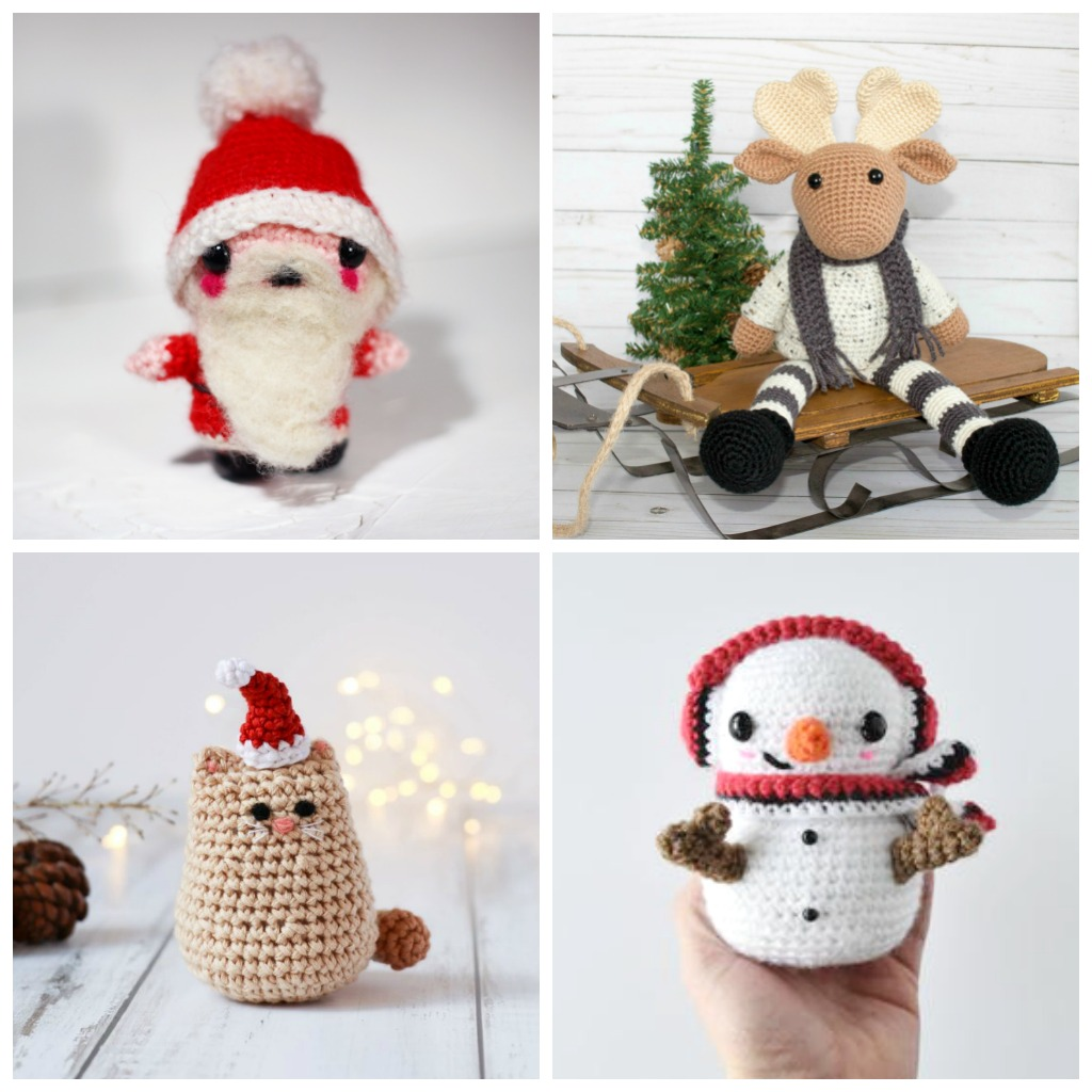 26 Fun Crochet Toys for the Holidays - Fill this holiday season with crochet toy projects that will fill your home with more joy than ever before. #crochettoys #christmastoys #crochetamigurumi
