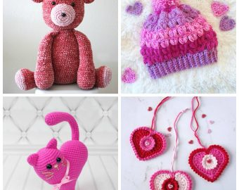 21 Simple Crochet Patterns for Kids on Valentine's
