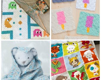 12 Adorable Corner to Corner Crochet Patterns for Kids